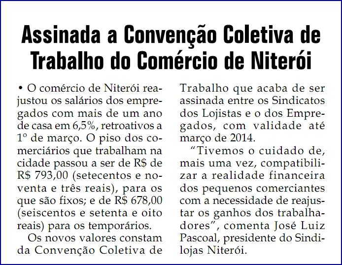 """Convenção Coletiva – Jornal """"Santa Rosa"""" – Página 4 – 11/04/2013"""
