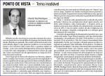 """Tema Inadiável Artigo de Charbel Tauil """"O Fluminense"""" de 05/04/2015"""