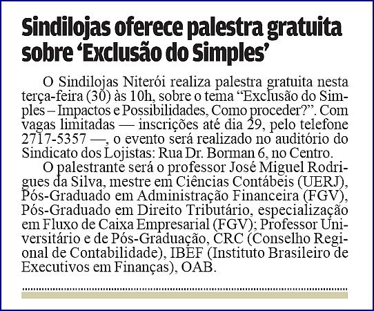 "Feriados – ""Gazeta Niteroiense"" – Página 2 – 27/04/2013"