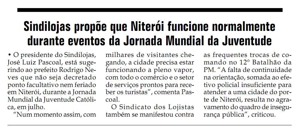 """Funcionamento do comércio – Jornal """"Santa Rosa"""" – Página 14 – 22/04/2013"""