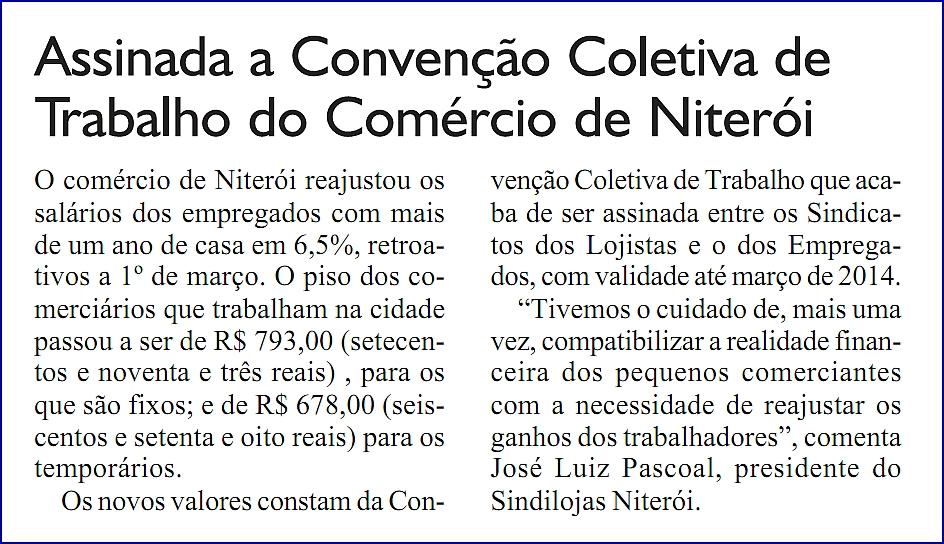 """Convenção Coletiva – Jornal """"Opção"""" – Página 2 – 20/04/2013"""
