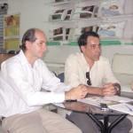 Charbel Tauil e José Luiz Pascoal